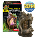Repti Rapids LED Waterfall Wood style S