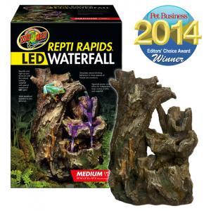 Terrarie Vandfald 187 Repti Rapids Led Waterfall Wood Style M
