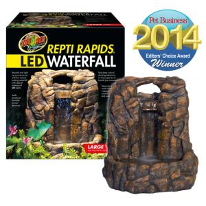 Repti Rapids LED Waterfall Rock style L