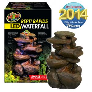 Repti Rapids LED Waterfall Rock style S