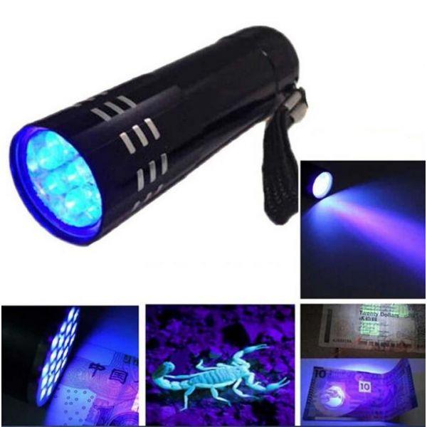 Oprindeligt Lommelygter » UV Lygte, 12 LED UO62