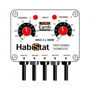 Habistat Twin. thermostat