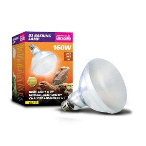 Arcadia D3 UV basking lamp 160W