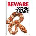 Beware sign: Kornsnog
