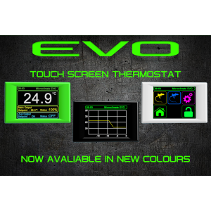 MICROclimate EVO Termostat med Touch Hvid