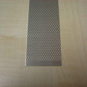 Alu. udluftningsgitter 100x5 cm