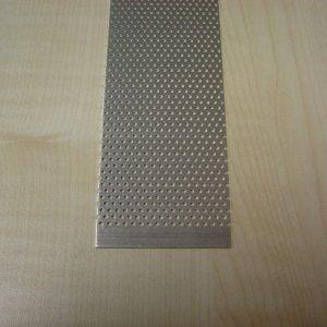 Alu. udluftningsgitter 100x4 cm