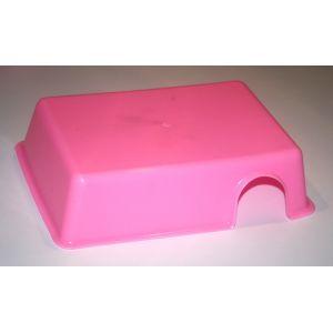 Plastik skjul M Pink