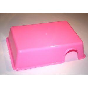 Plastik skjul L Pink
