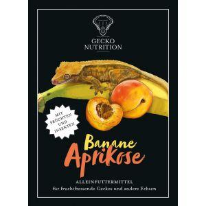Gecko Nutrition Banan/Abrikos 2 kg.