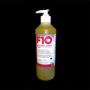 F10 antiseptisk sæbe med pumpe 500ml